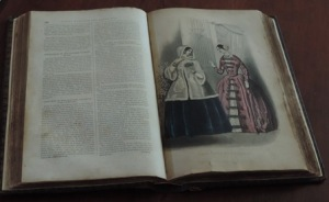 Fashion book circa 1800's